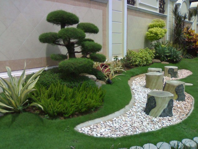 How To Design A Ying Yang Garden With The Use Of Larger Rocks Pertaining To Garden  Design With Stones | Source ...