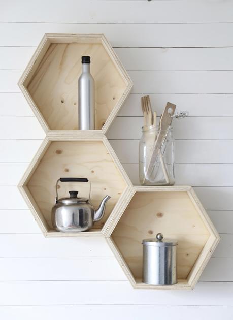 geometric shelves 10