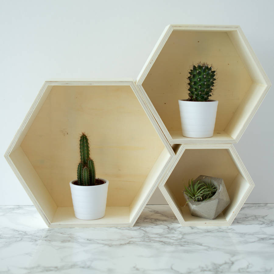 geometric shelves 11