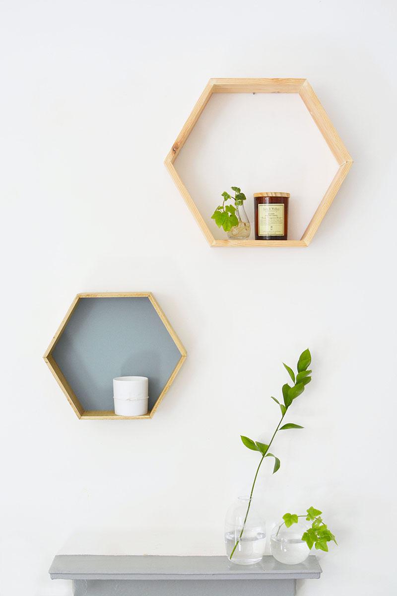 geometric shelves 13