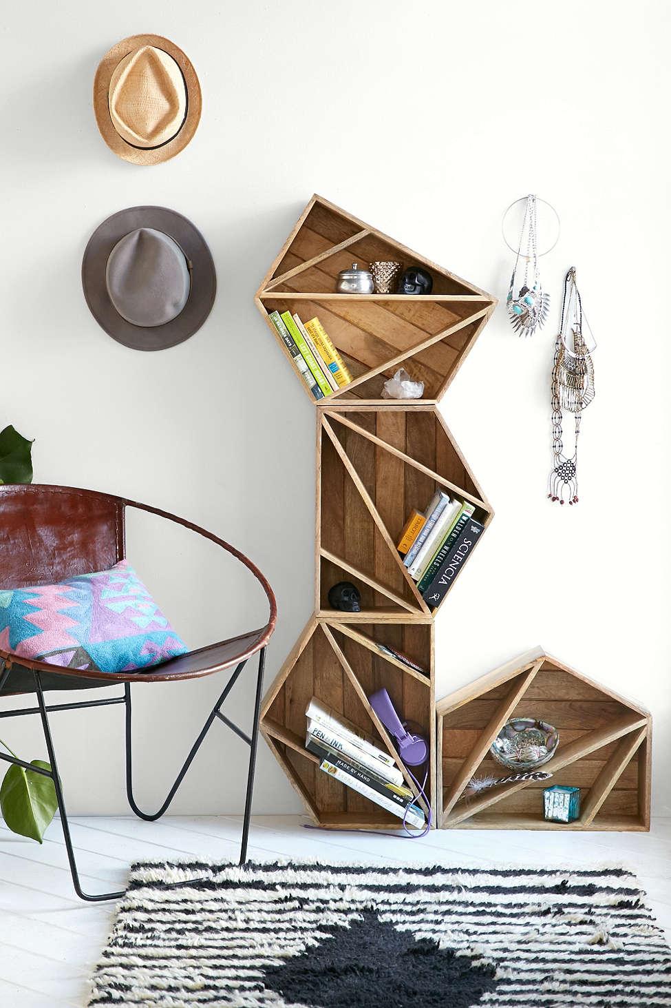 geometric shelves 17