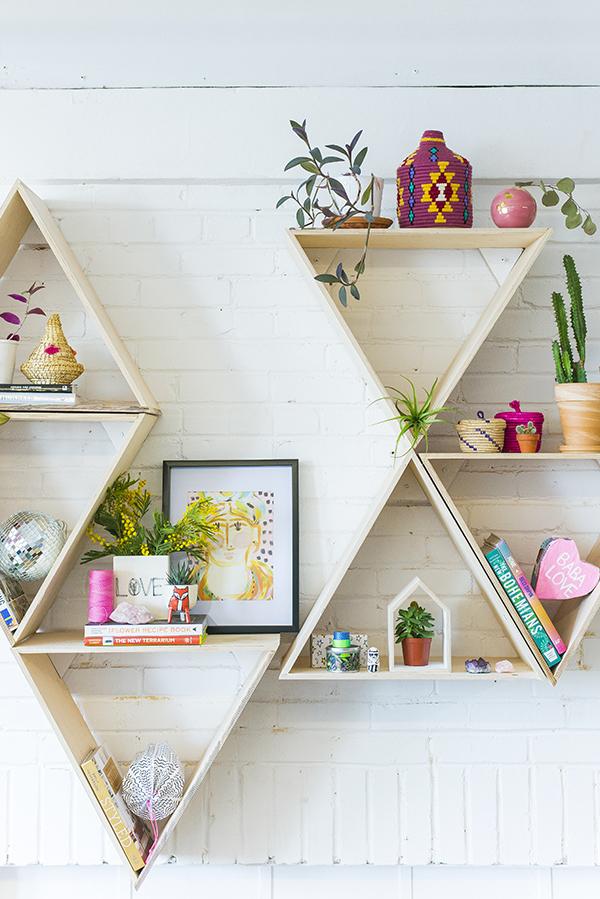 geometric shelves 3