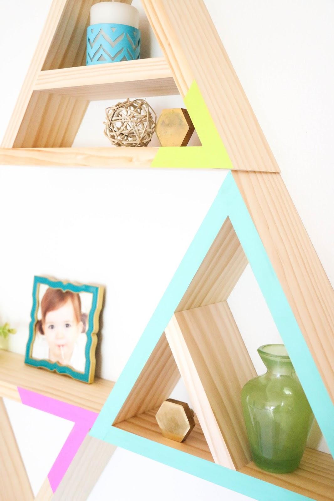 geometric shelves 5