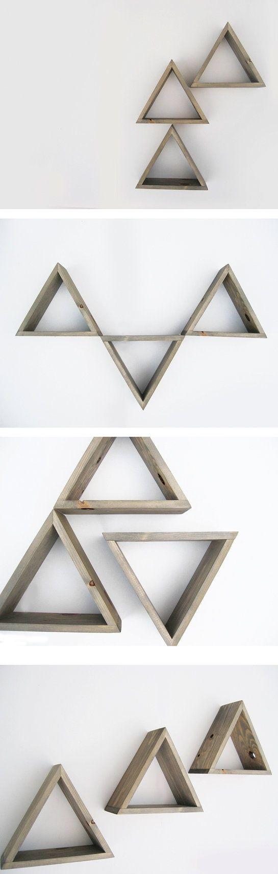 geometric shelves 6