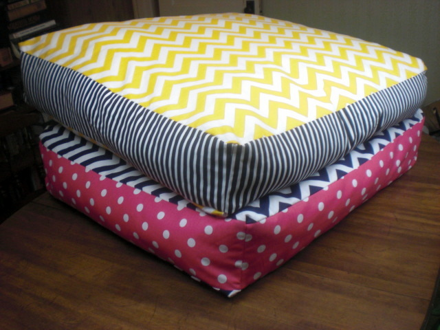 diy floor pillows.  10 DIY Giant Floor Pillows