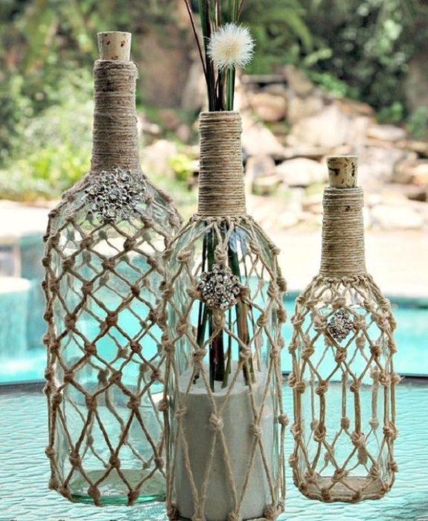 glass bottle crafts 9