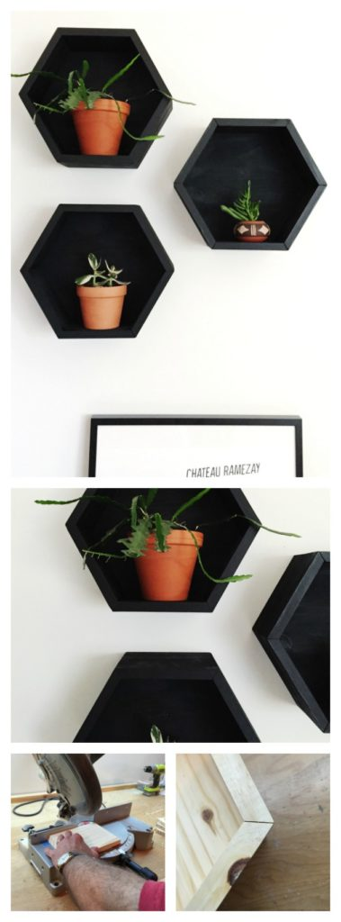 15+ Amazing Hexagon Shelf Ideas
