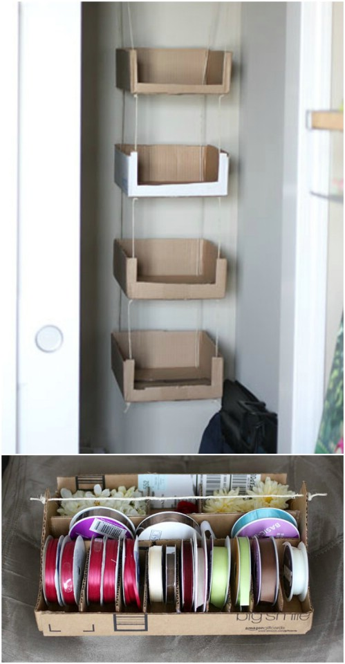 30 Diy Repurposing Ideas For Cardboard Boxes