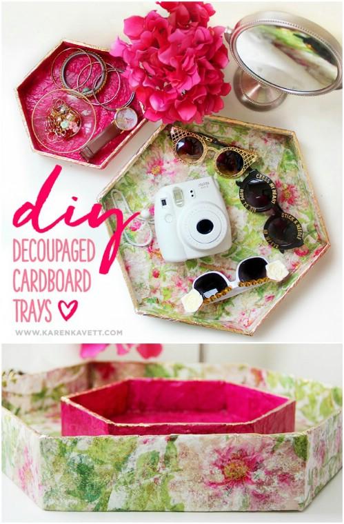 30+ DIY Repurposing Ideas For Cardboard Boxes