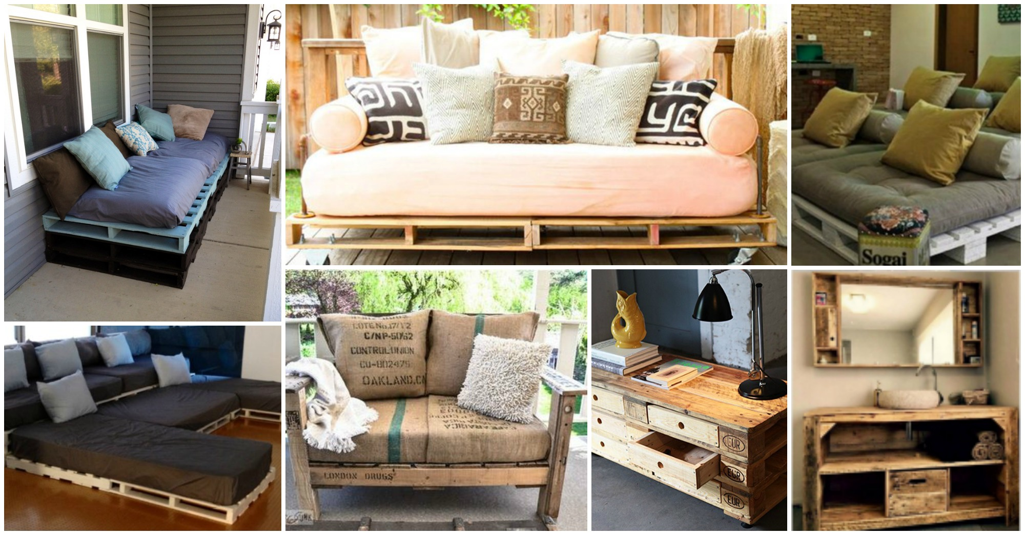 15 Incredibly Clever Pallet Furniture Ideas