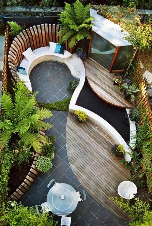 ideias for small garden