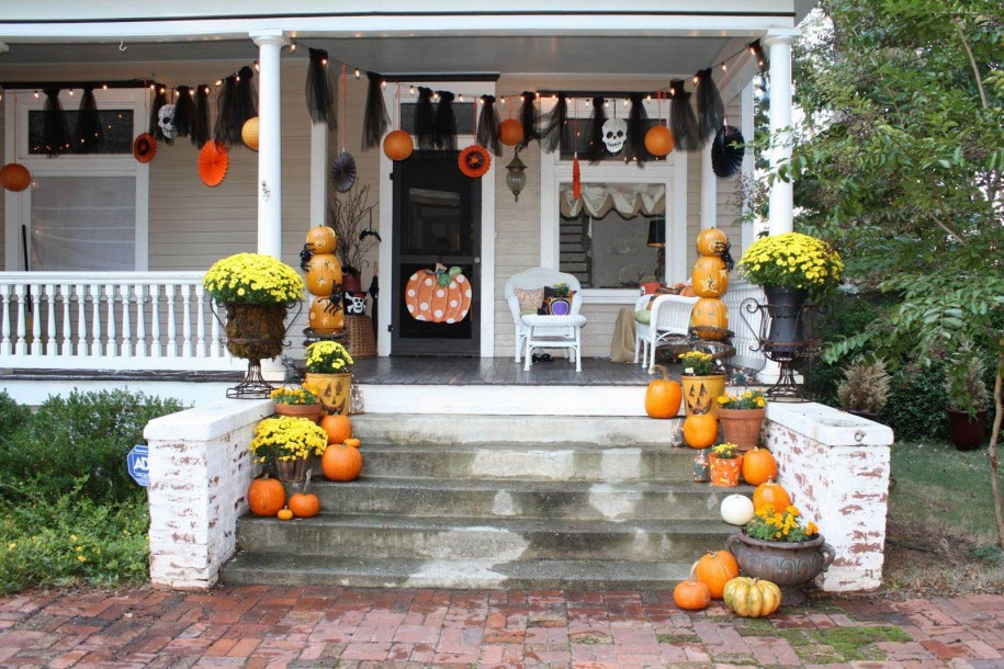 interior fantastic halloween decorating ideas