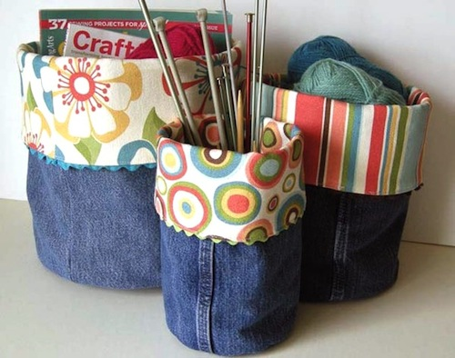 How to recycle your old jeans