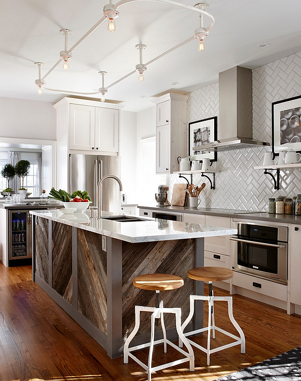 Impressive & Cool Kitchen Island Design Ideas