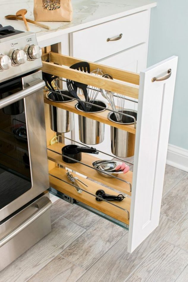20+ Brilliant Kitchen Storage Solutions