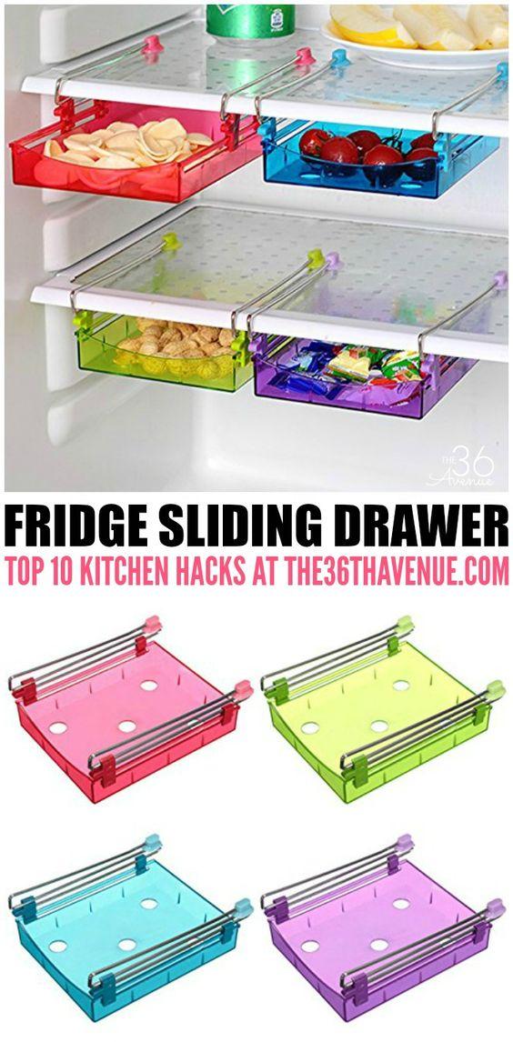 12+ Kitchen Storage Hacks That You Will Love