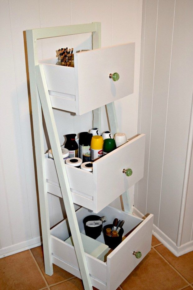 ladder decor ideas 11