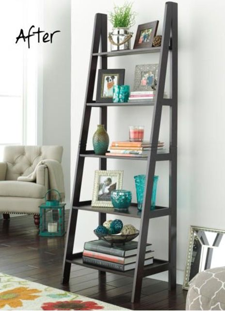 15+ Superb Ladder Decor Ideas