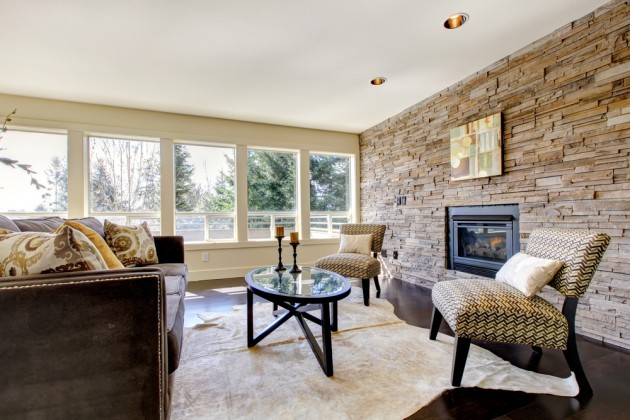 living room interiors with stone 13