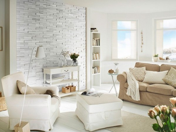 living room interiors with stone 14
