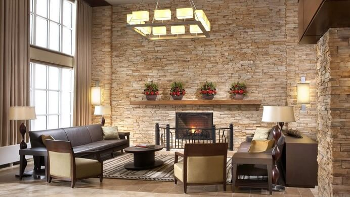 living room interiors with stone 15