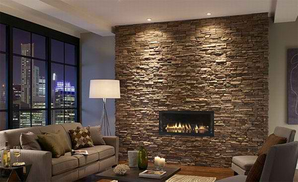 living room interiors with stone 5