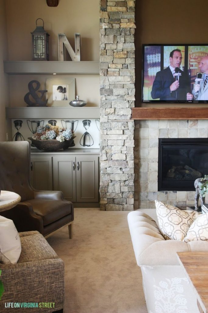 living room interiors with stone 7