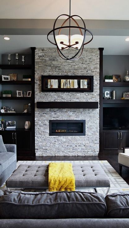 living room interiors with stone 8