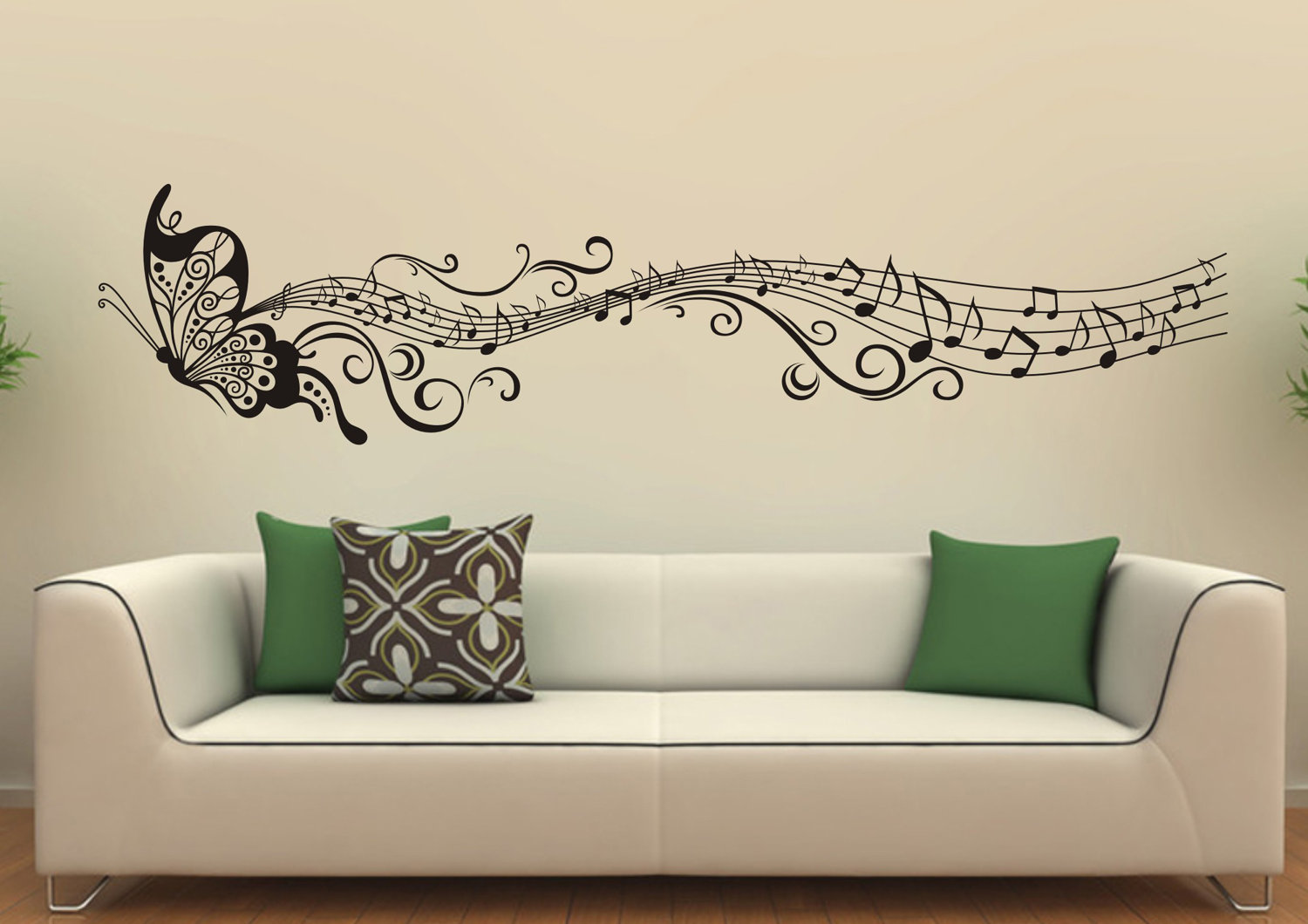Make your home beautiful with unique wall decor for Wallpaper on walls home decor furnishings