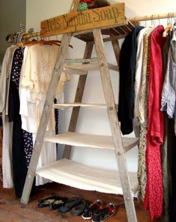 low money diy closet 11
