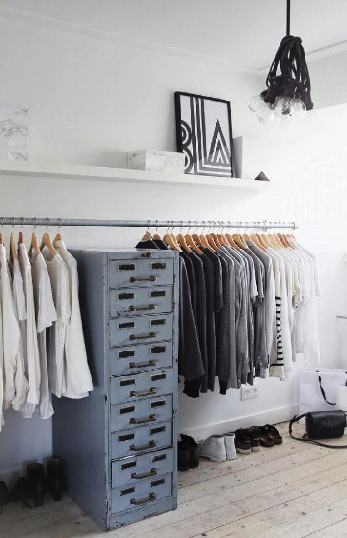 low money diy closet 17