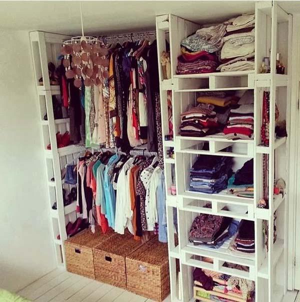 low money diy closet 7