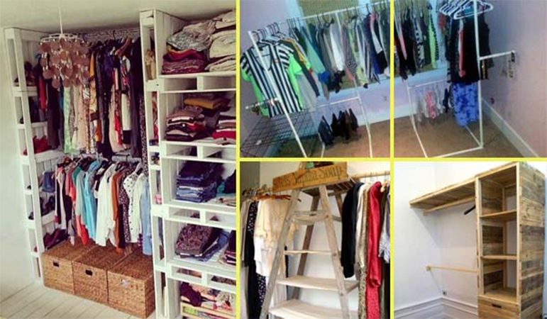 Small Closet Organization Apartment Bedrooms