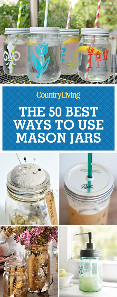 20+ Best Ways to Use Mason Jars in Home Decor