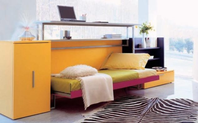 multi functional bed with storage 14