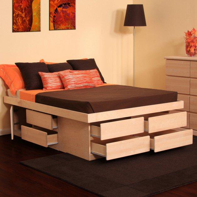 multi functional bed with storage 4