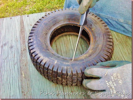 Diy beautiful tire planter - What to make with old tires ...