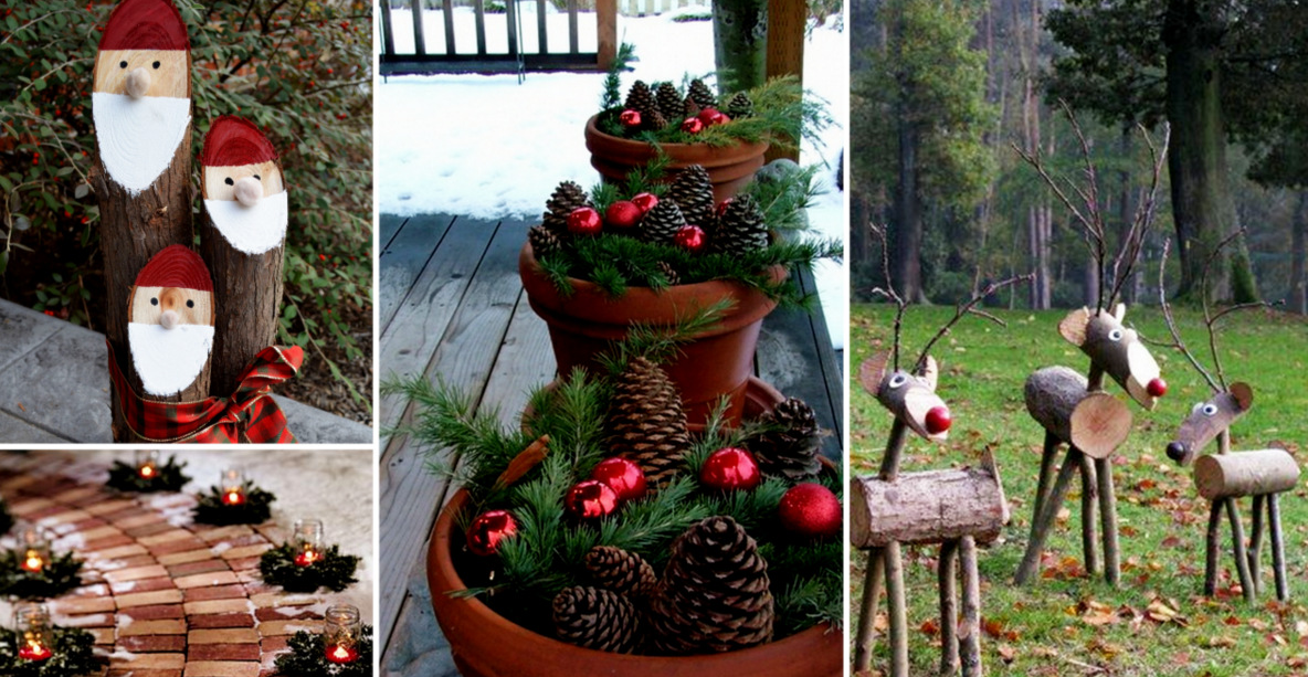 10 wonderfull christmas outdoor decorations Christmas decorations for house outside ideas