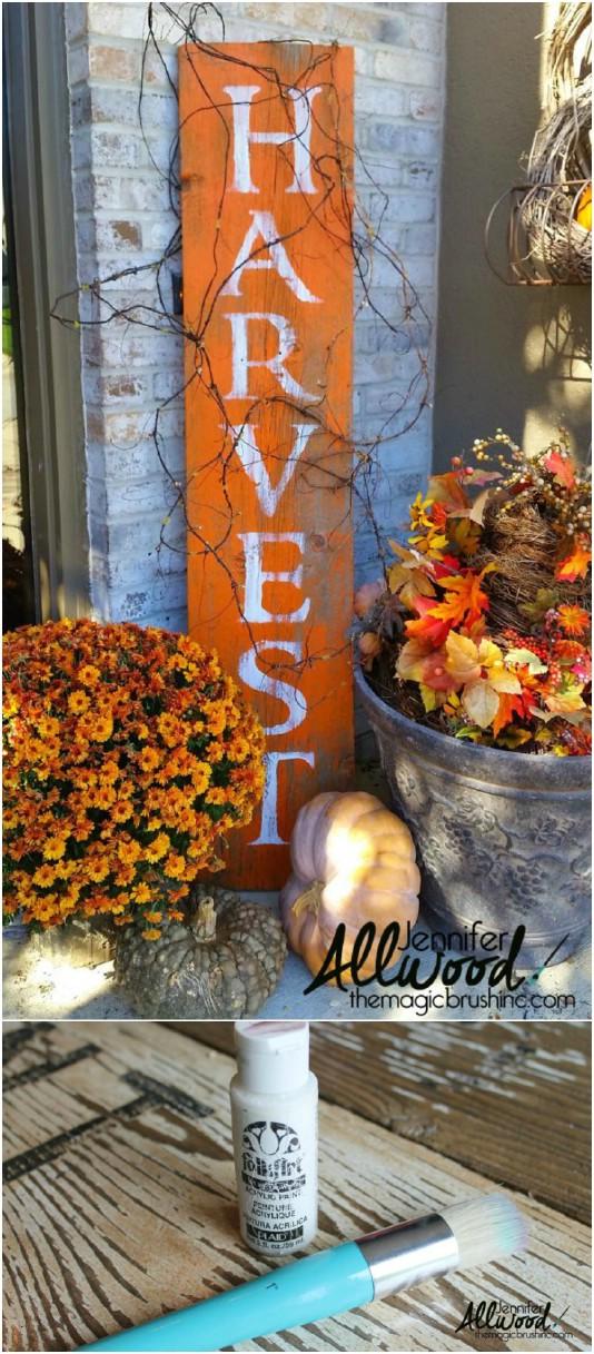 15 Diy Outdoor Fall Decorations