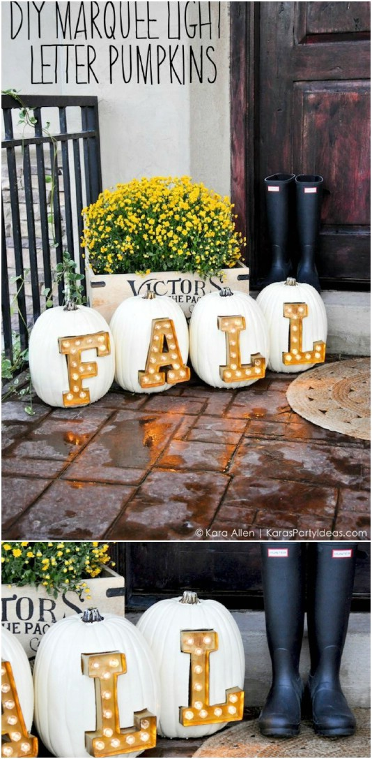 15 Diy Outdoor Fall Decorations
