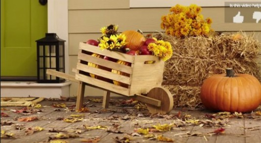 15+ DIY Outdoor Fall Decorations