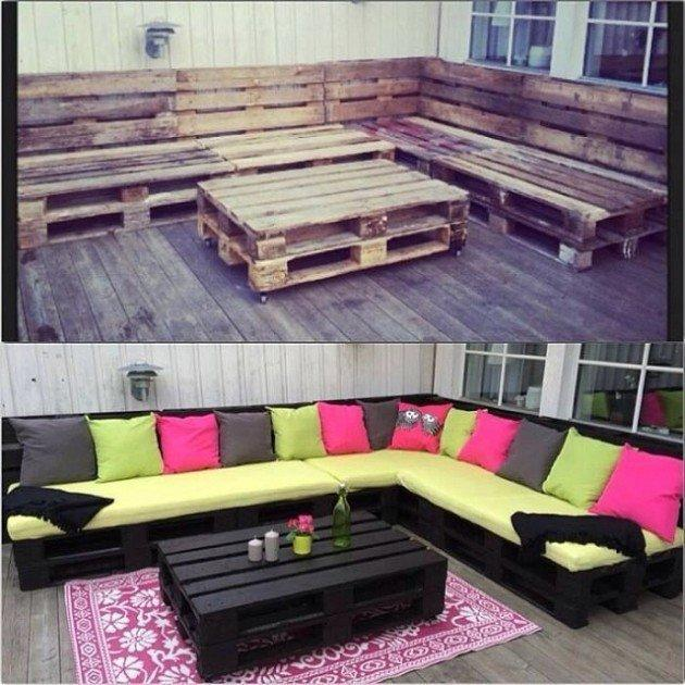 outdoor pallet ideas 2