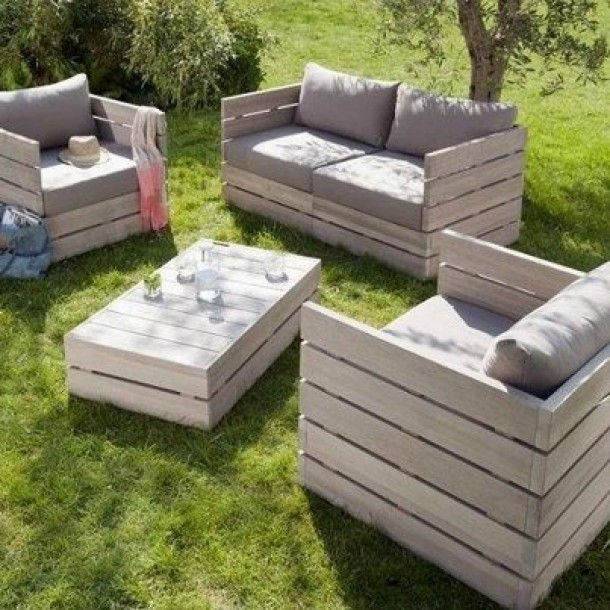 15+ Ingenious Outdoor DIY Pallet Projects