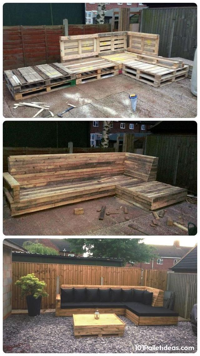 outdoor pallet ideas 4