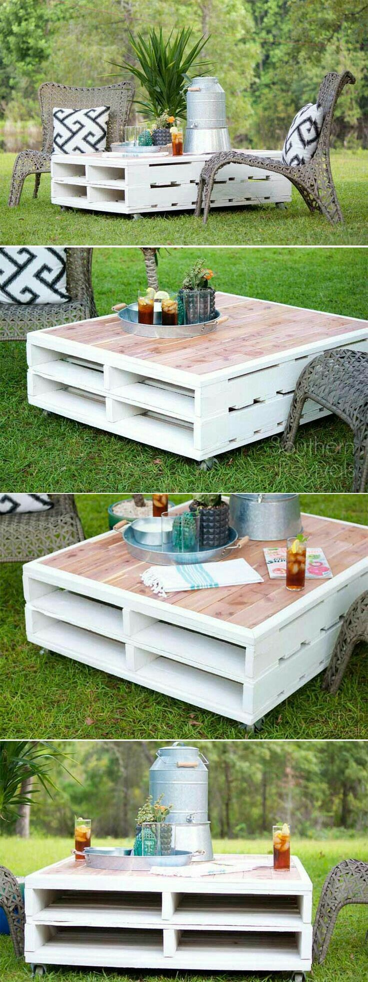 outdoor pallet ideas 9