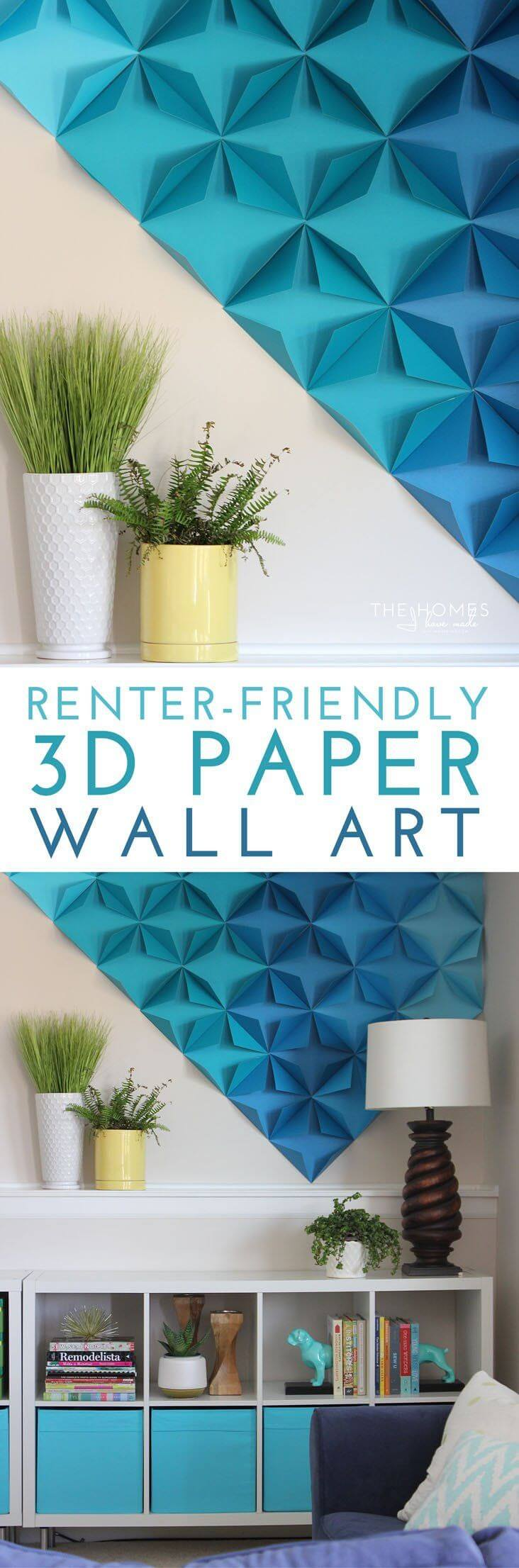 20+ Fun and Colorful Paper Decor Crafts You Can Make
