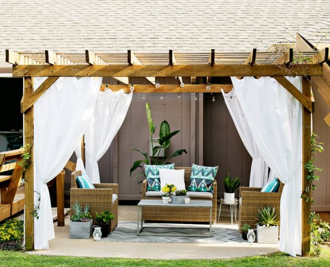 15+ Awesome Pergola Designs