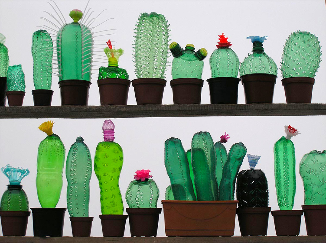 plastic bottle decor 4