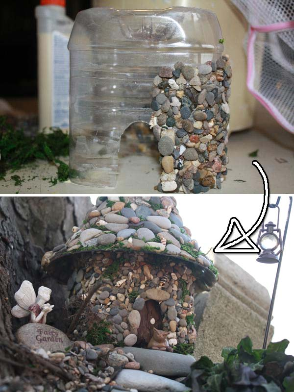 plastic bottle decor 9