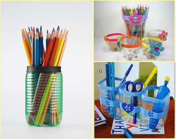 Recycled Plastic Art Projects